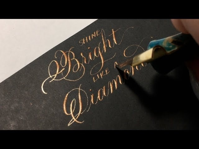 Awesome Pearl Ex Ink Modern Calligraphy