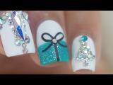 10 Easy Glam Christmas Nail Art Ideas