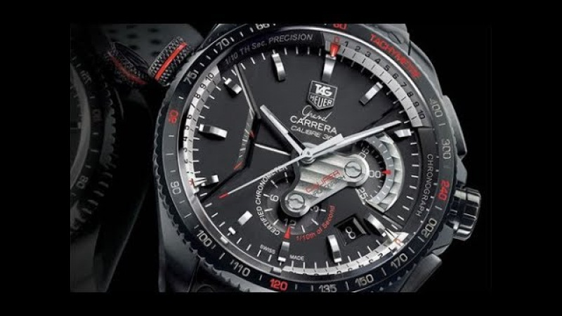 Мужские часы TAG Heuer Grand CARRERA CALIBRE 36 - YouTube