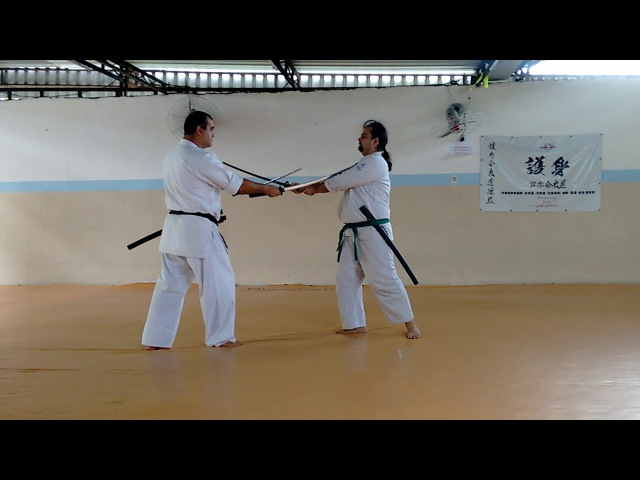 Goshin - Nito no Kata - Atemi Waza Go Hon