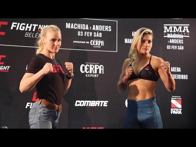 UFC Belem Media Day Staredowns - MMA Fighting