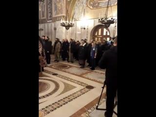 Молебен для москвичей, отправляющихся в 4-месячный Крестный ход о прекращении абортов (детоубийств)