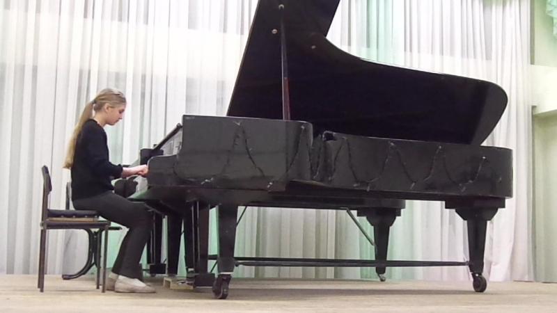 2013 И.Гайдн Немецкий танец исп. Геллер Даша
