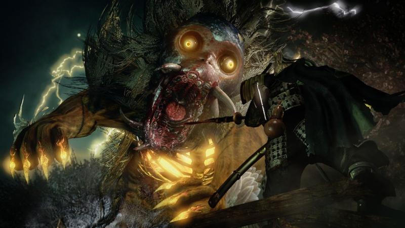 Nioh - Громовой Кот НУЕ (убийство)