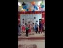 Выпускной в детском саду N17, танец выпускников и малышей