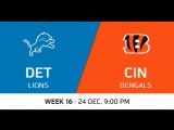 NFL 2017 / W16 / Cleveland Browns - Chicago Bears / CG / EN