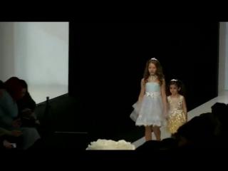 Модели Happy Kids на показе Mercedes-Benz Fashion Week 2017