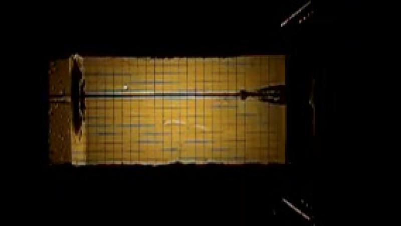 вертикальное падение плохообтекаемого осесимметричного тела в воду