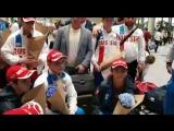 Прилет юношеской сборной России с первенства Европы в Болгарии