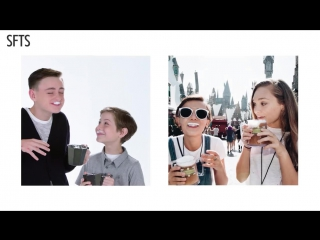 [RUS SUB] Maddie Ziegler, Jacob Tremblay & Jaeden Lieberher Recreate Their Instagram Posts ¦ Teen Vogue