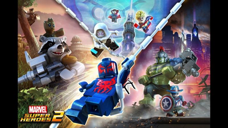 LEGO Marvel Super Heroes 2 Прохождение 1 Стражи Галактики[PC]