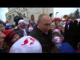 Владимир Путин встретился с детьми, приехавшими на новогоднюю ёлку в Кремль.