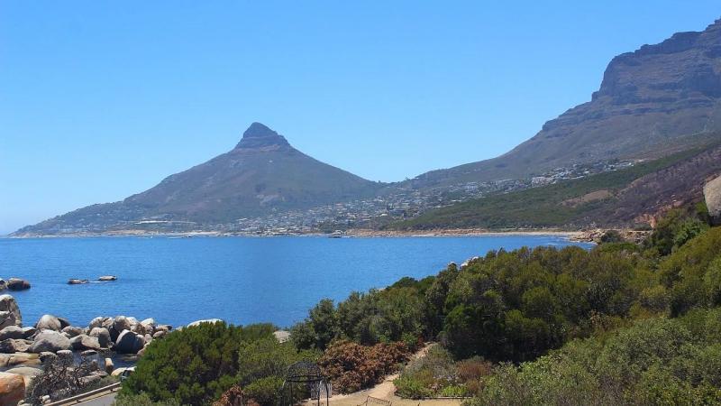 ЮАР, Кейптаун, гора Двенадцать Апостолов из отеля Twelve Apostles