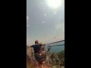Ребята прогулялись по подвесным мостам к зубцам горы Ай Петри Высота 1200 метров