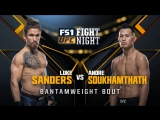 UFC FIGHT NIGHT FRESNO Luke Sanders vs Andre Soukhamthath