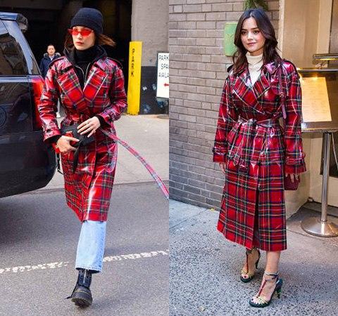 Модная битва: Белла Хадид против Дженны Коулман