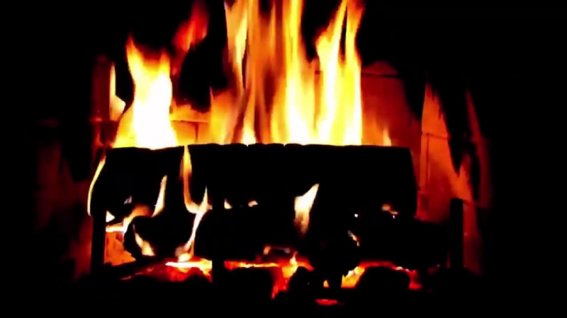 Fireplace-HD-Tibetan-Singing-Bowland-and-Power-bells-Sleaning-of-Housing-space-720p