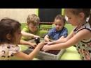 Работа с развивающей средой под детскую песню Антошка