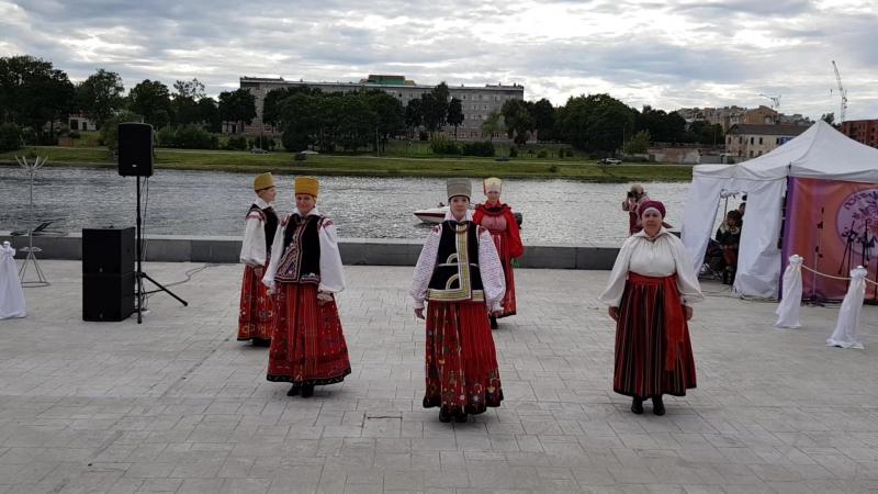 Первый Международный фестиваль этнической моды «Этно-Мода Псков-2017»