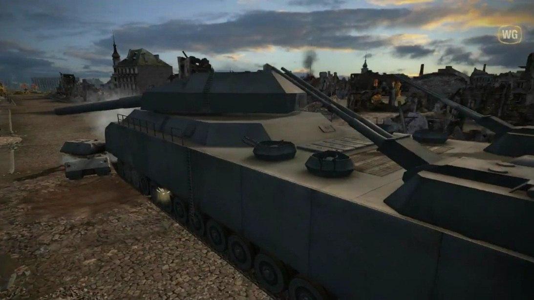 Фото танка крыса и его информация