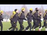 Тренировка дортмундской «Боруссии» 7 января 2018