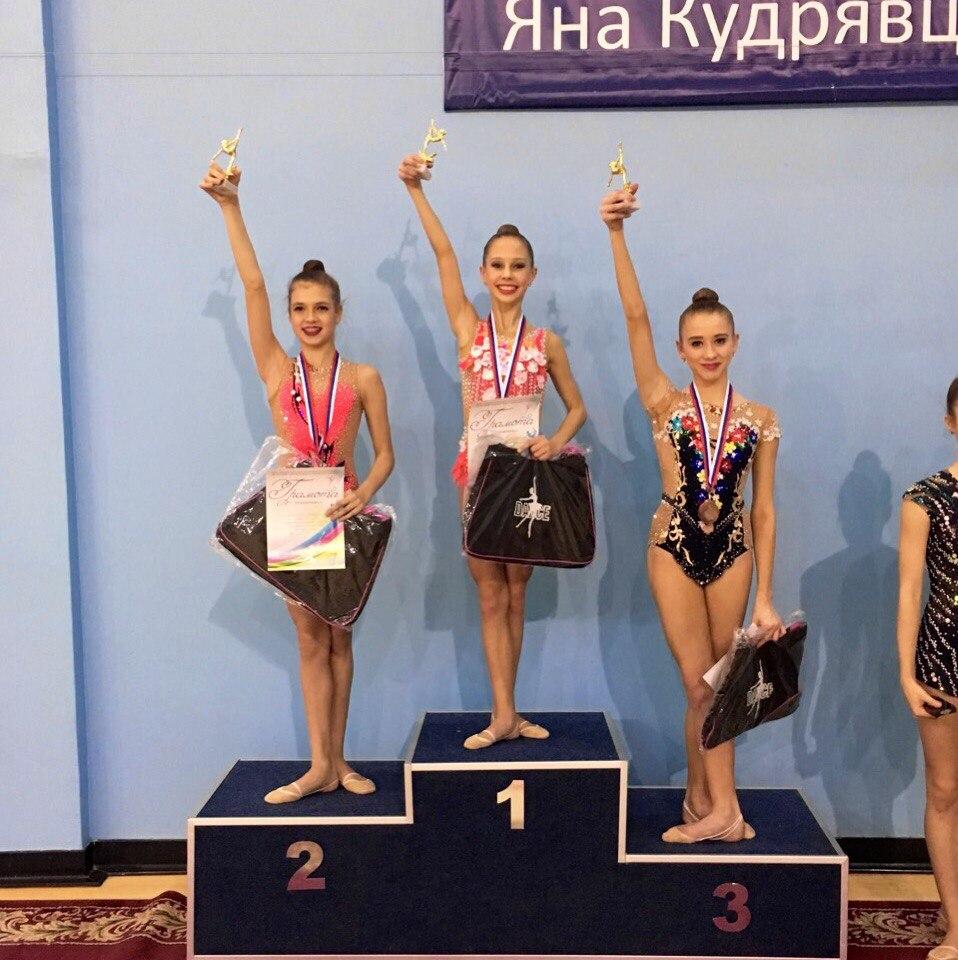 Мордовские гимнастки