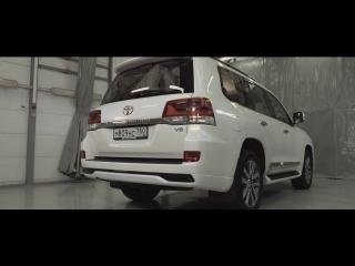 Land Cruiser 200: багажник