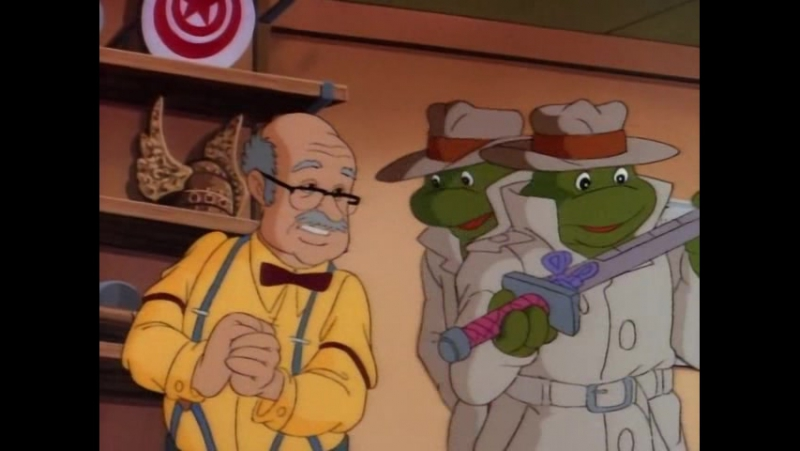 TMNT 1987 серия 30 (Ниндзя ниоткуда)