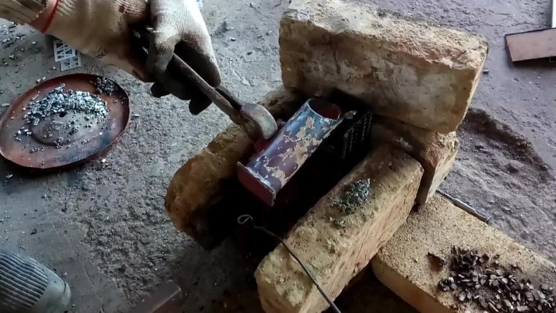 [ARS Pro] Заливаем свинец в кувалду. Молот Тора в работе