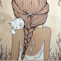 Поэтическая Заварка. Кошки, девушки, весна...