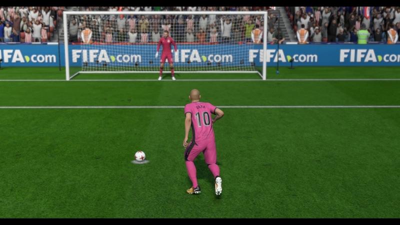 FIFA18 Дзадза - мастер исполнения пенальти!