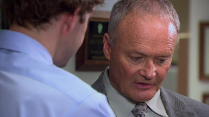 Офис [The Office] / 4 сезон - 7 серия / «Наука выживать» [Survivor Man]