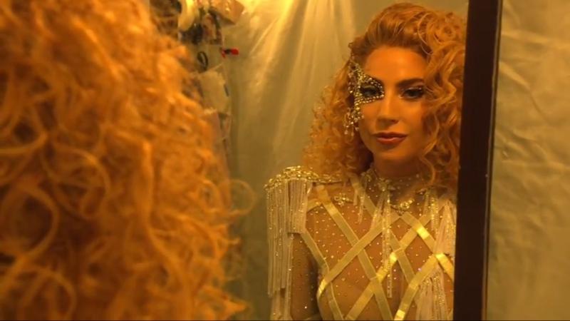 Видео со съёмок Леди Гага для «American Music Awards 2017»