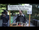 Victoria Beckham Gives Strangers Fashion Advice for $2 in Central Park Vanity Fair