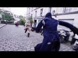 Assassins Creed Unity Meets Parkour in Real Life - 4K