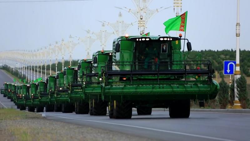 2017 Turkmenistan, JD W540 AHAL (raw footage) short road trip. NO SOUND