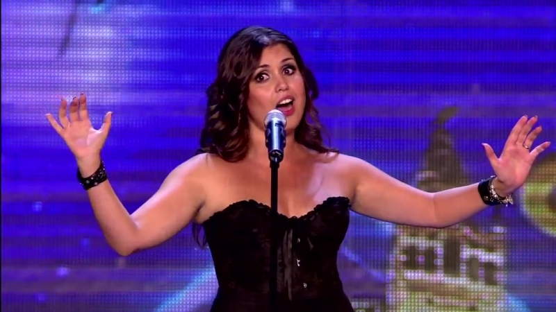 Cristina Ramos Talent 2016 Opera Rock - Highway to hell