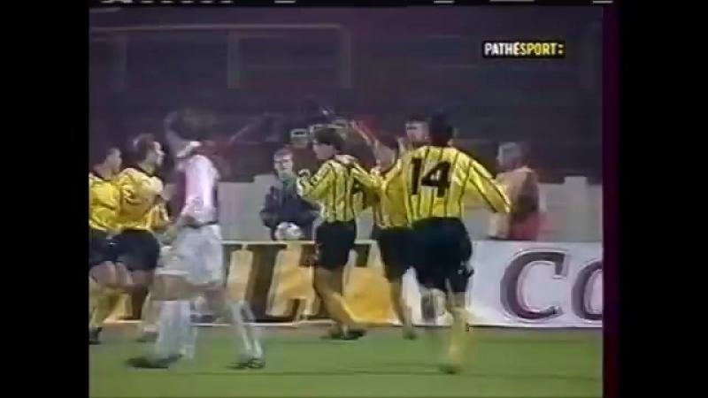 Кубок УЕФА 200001. Интер (Словакия) — Локомотив (Москва) - 12 (01).