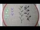 Шов Мушка или как просто вышить цветок / The seam of a Fly or how to embroider a flower