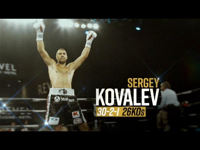 HBO LATINO PRESENTA: WORLD CHAMPIONSHIP BOXING 11-25-17 KOVALEV VS. SHABRANSKYY PROMO