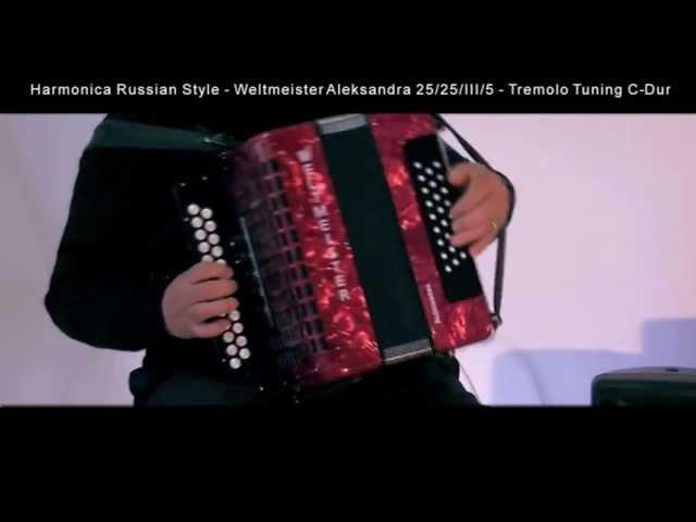 Harmonica Weltmeister Aleksandra Tremolo Tuning