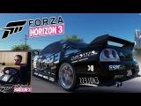 Вечерний стрим часть 2 - Forza Horizon 3 на руле Logitech G25