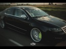 Fake R36 bagged Passat with 8pot brakes and 20 wheels