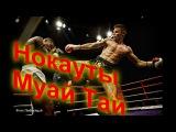 Мощные Нокауты!! Тайский бокс ( Муай Тай) Не UFC но тоже красиво! нокауты в боксе и мма. лучшие бои.