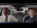 Человек-Паук Том Холланд/Tom Holland сдает на права на новенькой Audi A8 D5.