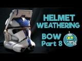 Star Wars Cosplay Weathering a Clone Trooper Helmet