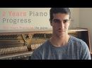 2 YEARS PIANO PROGRESS - (SELF TAUGHT)