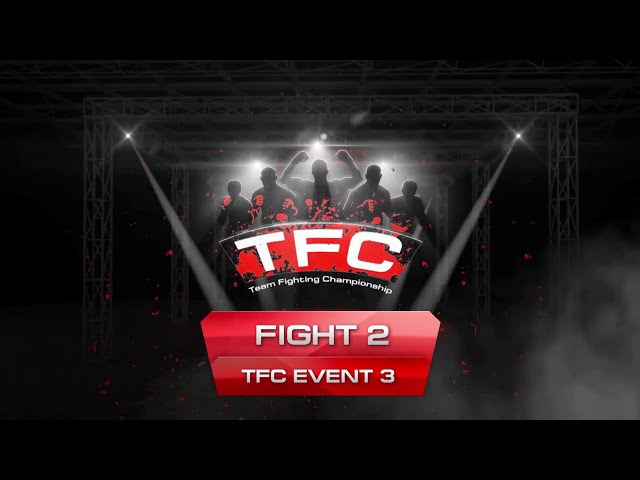 Fight 2 of the TFC Event 3 Brawlers (London, UK) vs Ground and Pound (Sao Paulo, Brazil)