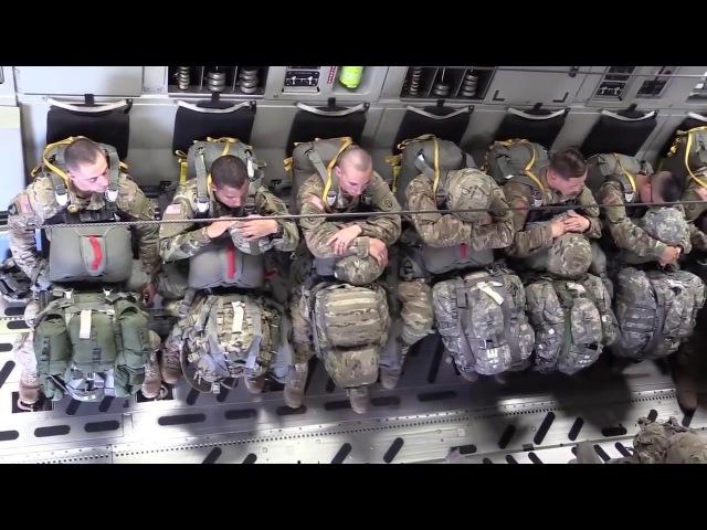 미군 실제 특공대 낙하 동영상 이륙부터 준비 대기 영화보다 더실감 나네요