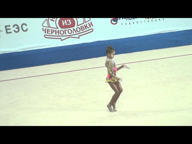 ● Анастасия Симакова показательное выступление Гран При 2012